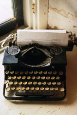 Old Manual Typewriter